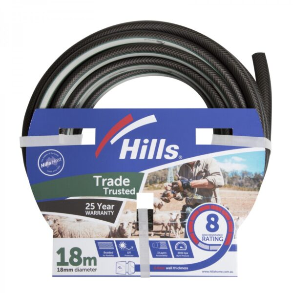 18mm x 18M Trade Trusted Garden Hose