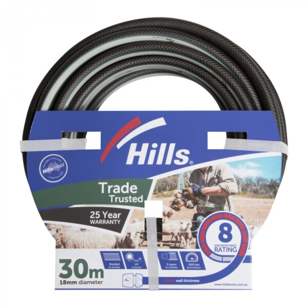 18mm x 30M Trade Trusted Garden Hose