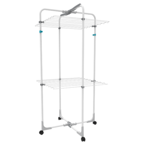 Two Tier Mobile Tower Airer