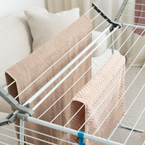 Four Wing Expanding Clothes Airer